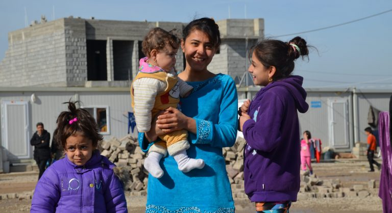 Christian refugees in the Middle East (© Aid to the Church in Need)