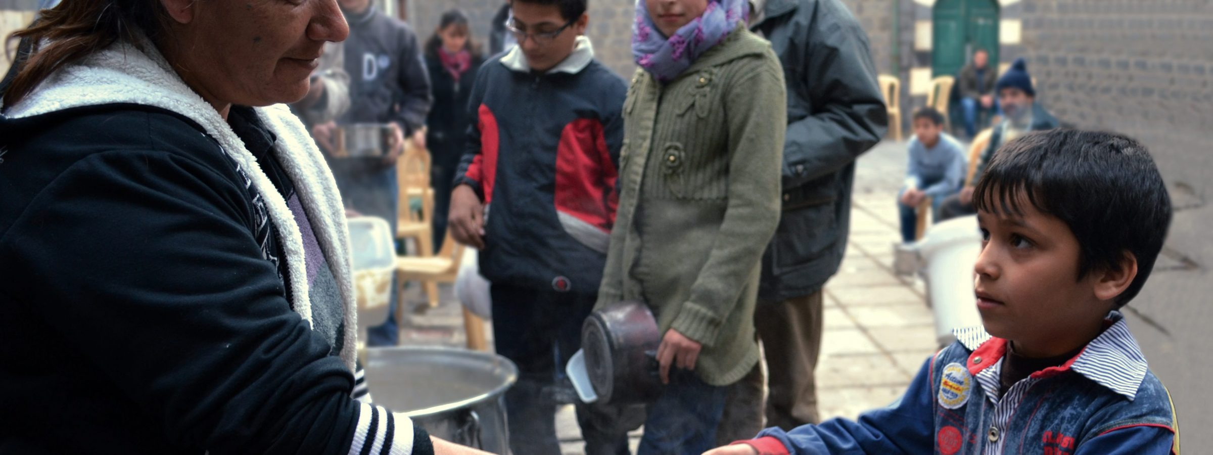 Emergency help for the families in Marmarita, Vallée des Chrétiens, Homs (October - December 2014)