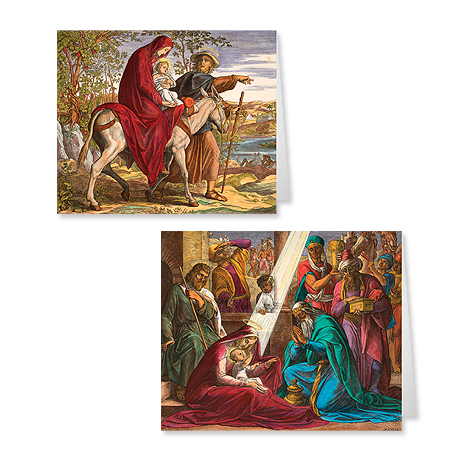 Adoration of the Magi and Flight into Egypt Twin pack