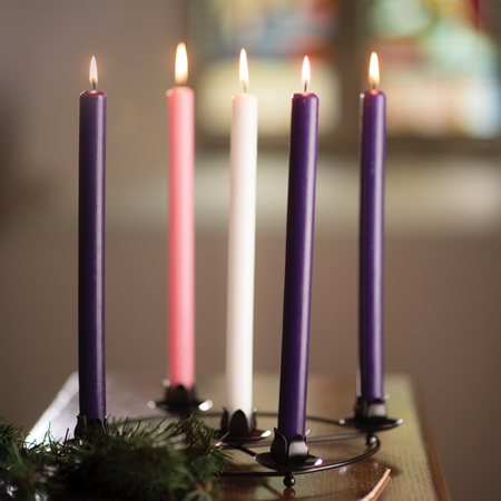 Advent Candle & Frame Set