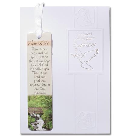 Sacraments card: Baptism