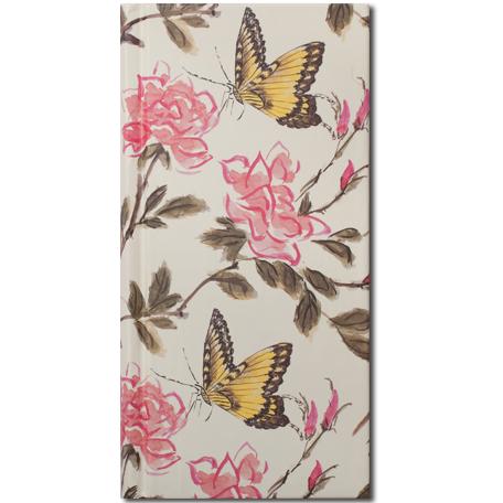 Bishop Han: Journal Butterfly design