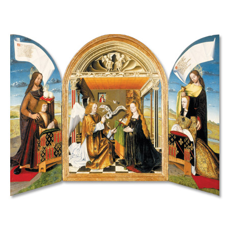 The Annunciation with Saints and Donors