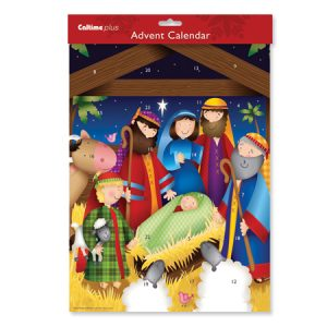 Cartoon Nativity Advent Calendar