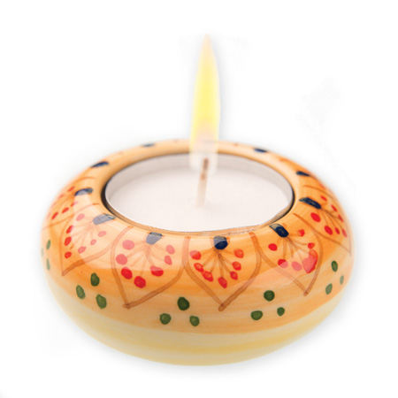 Holy Land: Ceramic Tealight Holder
