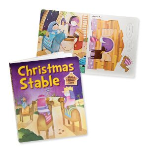 Christmas Stable Build Your Own