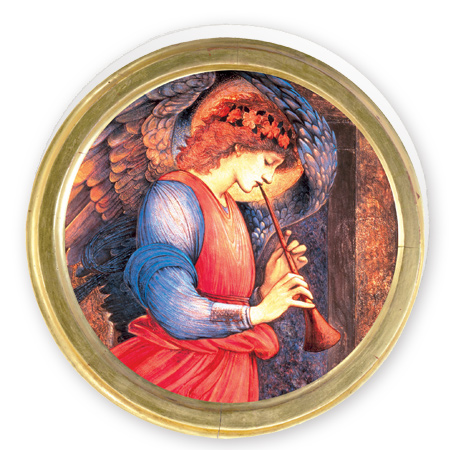 Angel Playing a Flageolet