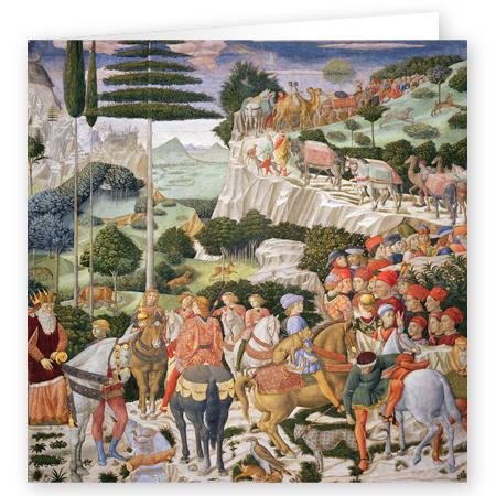The Journey of the Magi to Bethlehem