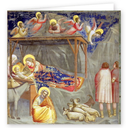 The Nativity Giotto di Bondone