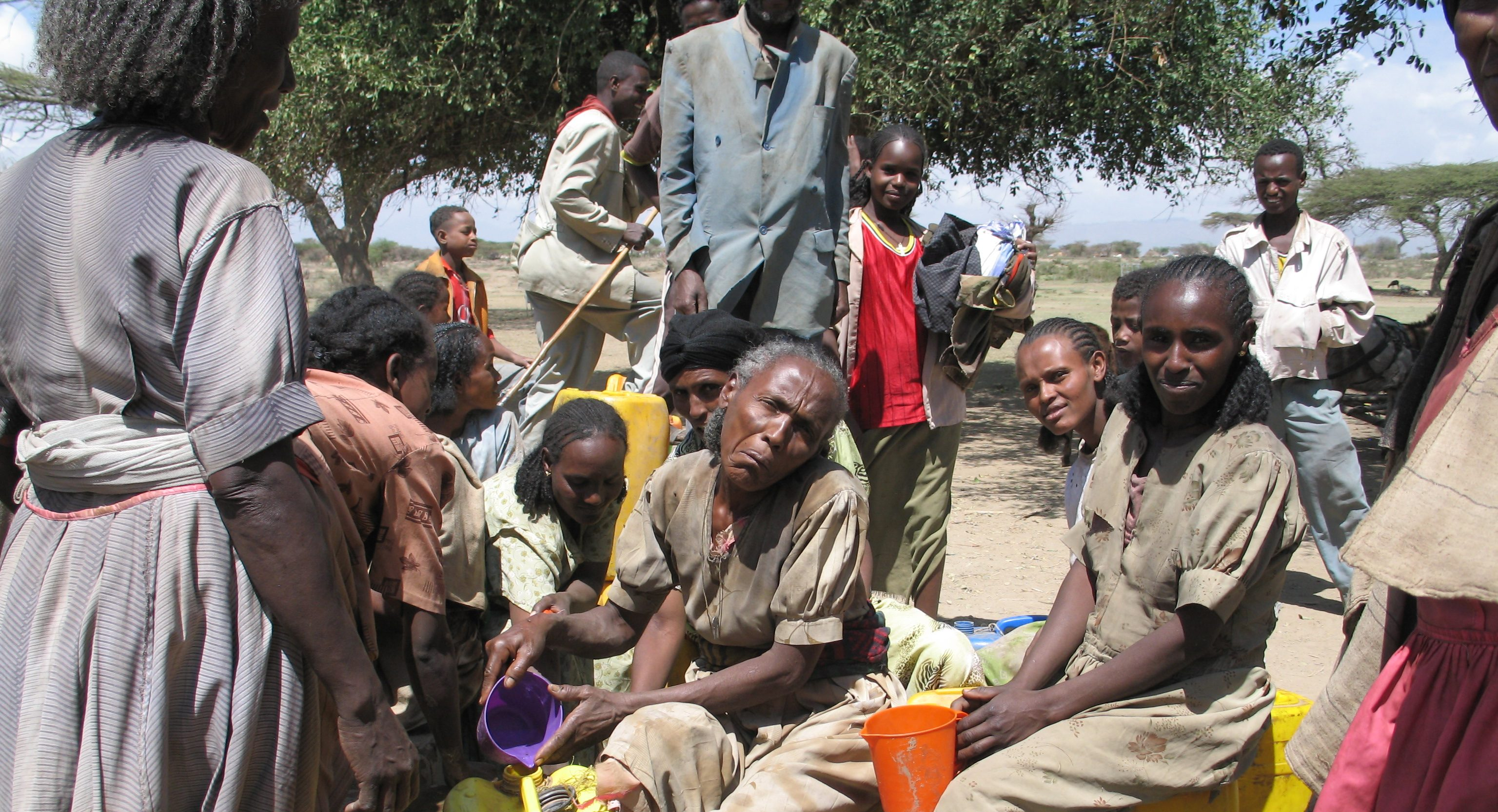 These refugees have fled government oppression in Eritrea
