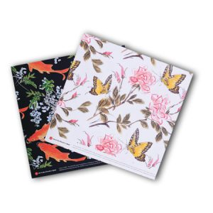 Bishop Han: Fish and Butterfly Gift Wrap