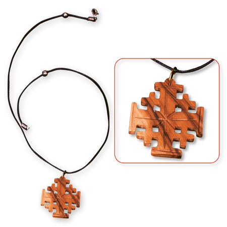 Holy Land: Jerusalem Cross Necklace