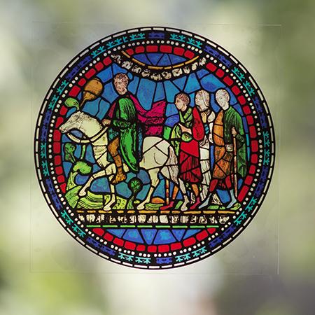 Pilgrims to Canterbury Window Transfer
