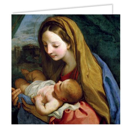 Madonna and Child - Maratta
