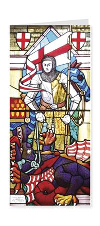 St George Patron Saint of England card