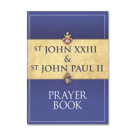 Saint John Paul II and Saint John XXIII Prayer Book
