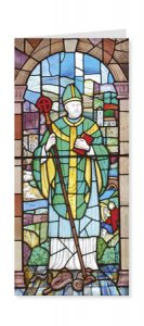 St Patrick Patron Saint of Ireland card