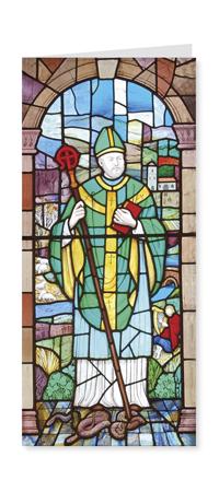 St Patrick Patron Saint of Ireland card