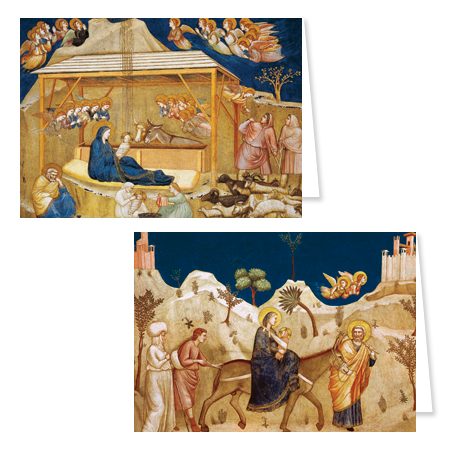 The Nativity and The Flight into Egypt