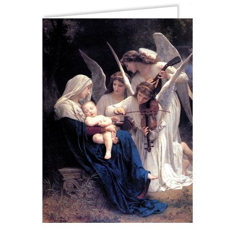 The Virgin with Angels (La Vierge aux Anges)