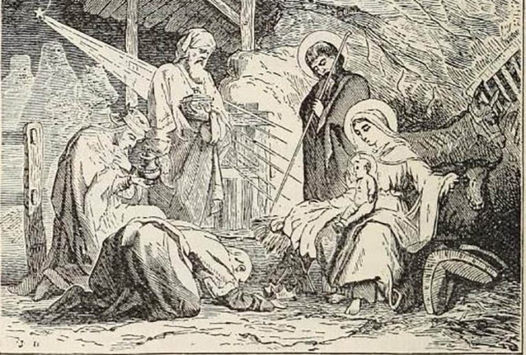 he solemnity of the Epiphany includes the adoration of Jesus in Bethlehem by the three wise men