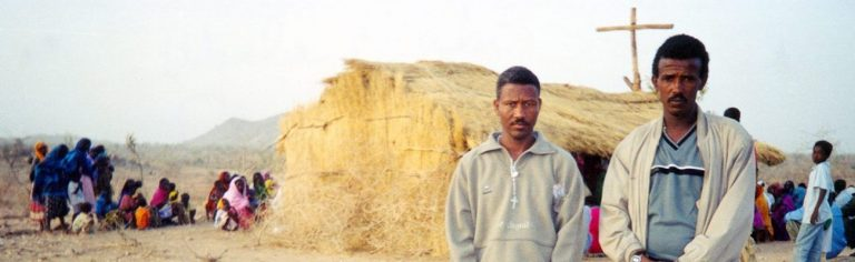 Eritrean refugees at Camp in West Tigray