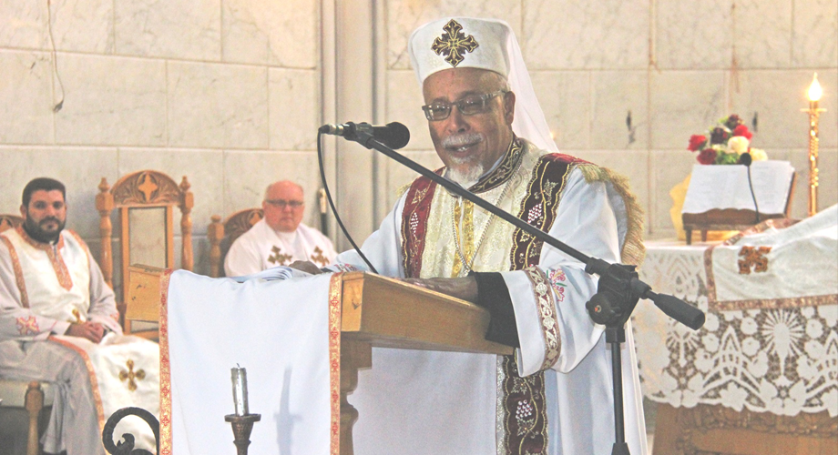 Coptic Catholic Bishop Kyrillos William spoke about the latest series of bomb attacks against Christians in Egypt (© Aid to the Church in Need)