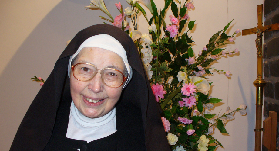 Celebrating her 70th jubilee Sr Wendy Beckett is supporting ACN in its 70th anniversary (© Aid to the Church in Need)