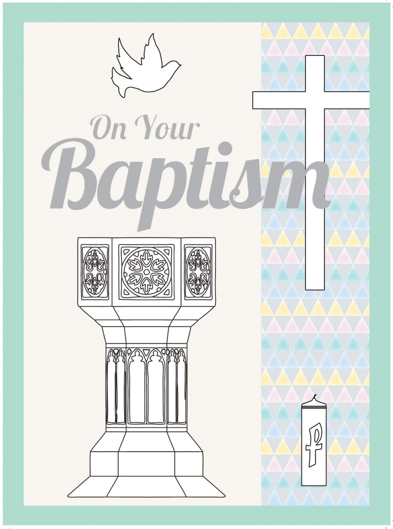 Aid To The Church In Need Baptism Card