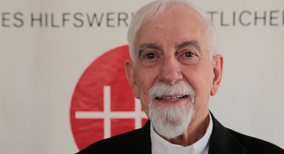 Fr Samir Khalil Samir, Egyptian Jesuit priest and a professor at the Institute of Oriental Studies in Rome, specialist in Islam (© Aid to the Church in Need)