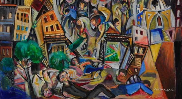 The Destruction of Homs by Farid Georges