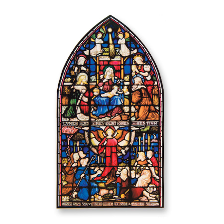 Adoration of the Magi Window Transfer