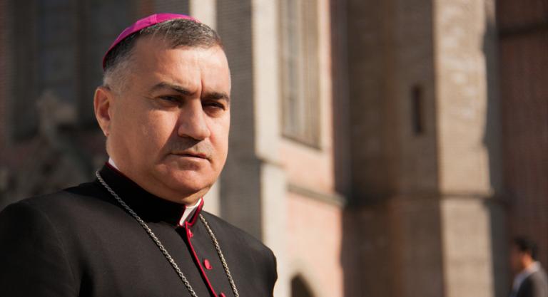 Archbishop Bashir Warda of Erbil, Iraq (© Aid to the Church in Need)