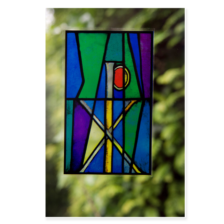 Symbol of Christ Window Transfer