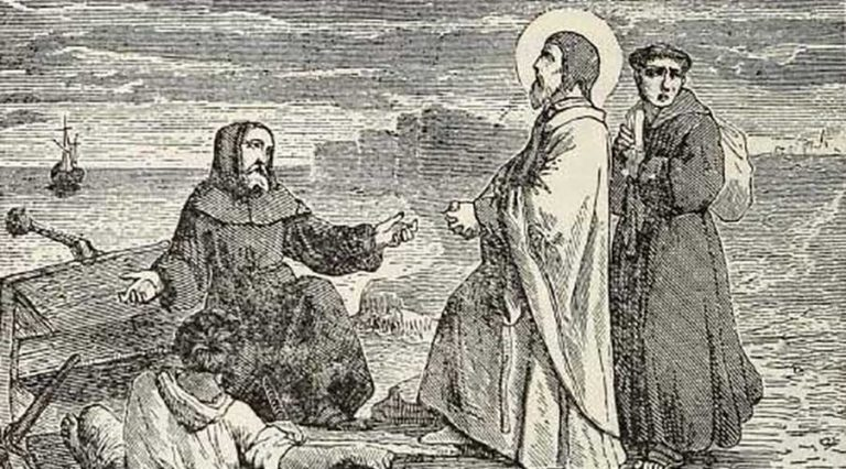 St Anselm's faith was tested as a teenager but returned strengthened: