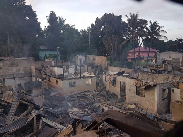 Marawi City after torching by Maute group and aerial bombardment of AFP