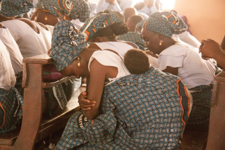 Sunday Mass at St. Rita Church in Kaduna state, Nigeria, March 2017 - St Philip's Church, Anambra state was the location of the August 2017 attack (© Aid to the Church in Need)
