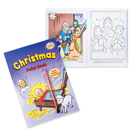 Christmas Paint Book