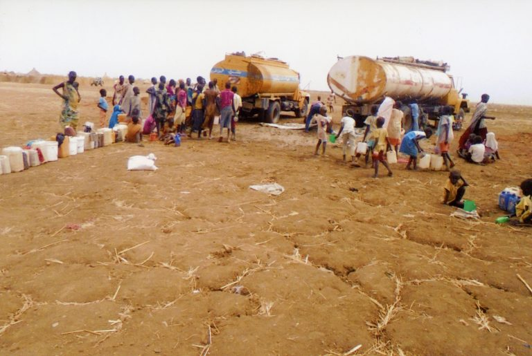 South Sudan refugees in Sudan