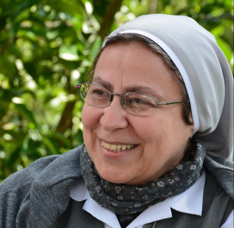 Sr Annie Demerjian of the Sisters of Jesus and Mary, Syria
