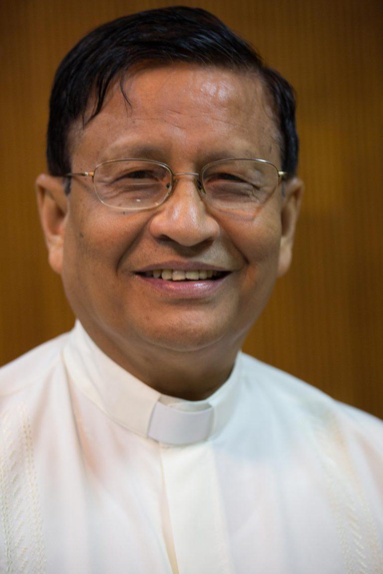 Cardinal Maung Bo, Archbishop of Yangon (Rangoon) © Aid to the Church in Need/Magdalena Wolnik
