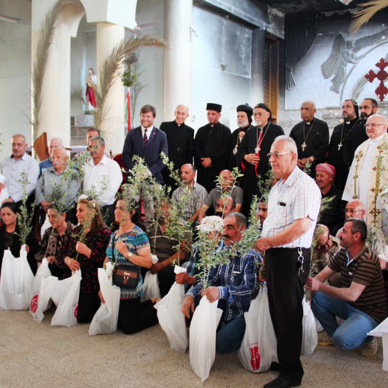 Help Iraqi Christians return home £2000