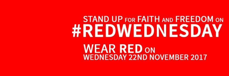 ACN's #RedWednesday – promoting faith and tolerance in Iraq, UK, USA, Malta, Gibraltar, Philippines and elsewhere