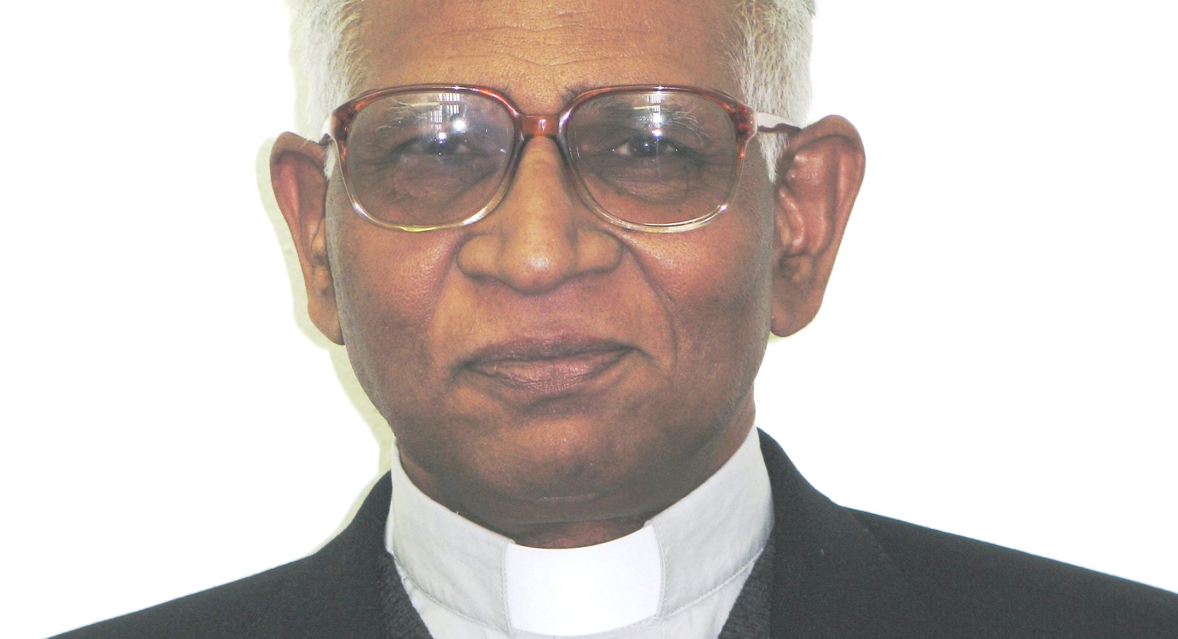 With picture of Bishop Victor Gnanapragasam of Quetta ©Aid to the Church in Need