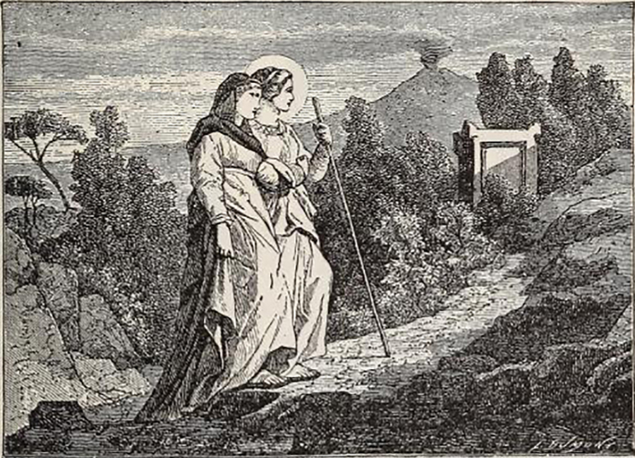 St Lucy is the patron saint of the blind as well as martyrs, she knowingly travelled to own martyrdom in 304 AD