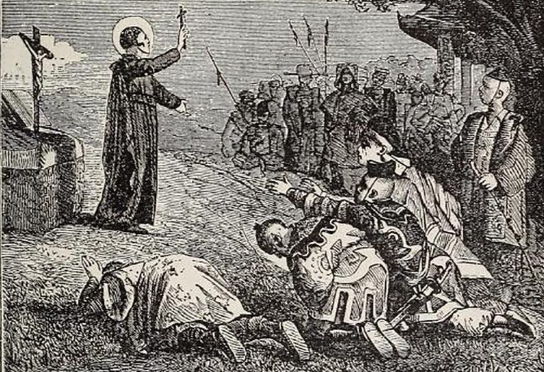 St Francis Xavier's zeal in his missionary work caused him to be become known as a second St Paul