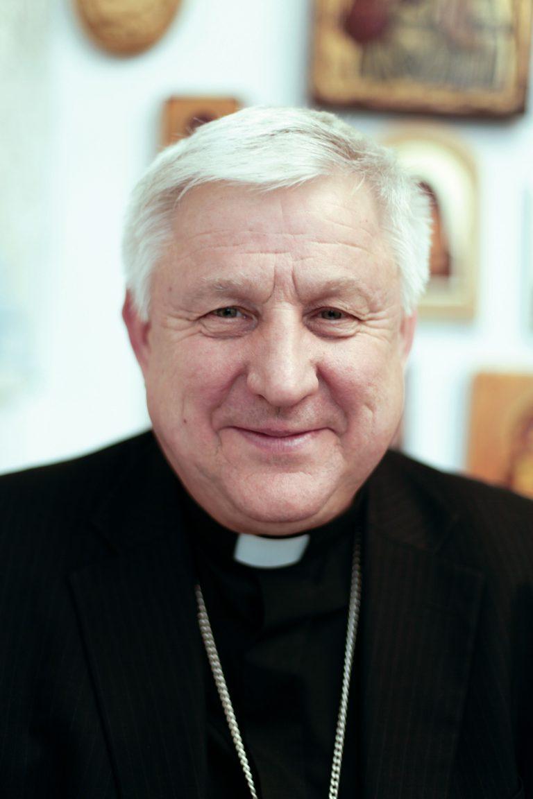 Bishop Stanislav Shyrokoradiuk of Kharkiv-Zaporyzhya Diocese, Ukraine