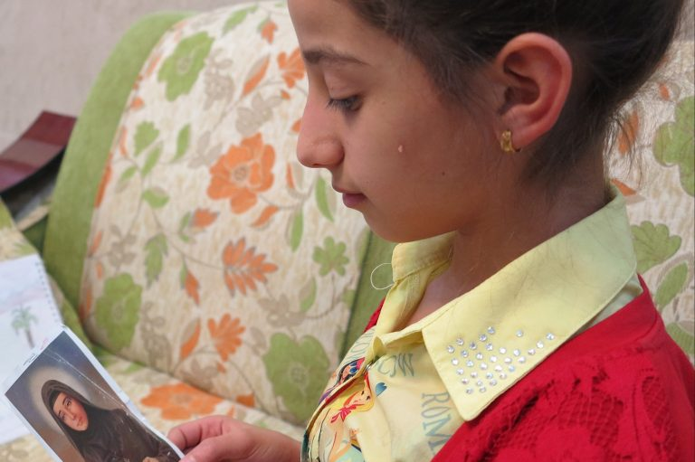Helda Khalid Jacob Hindi, 10, Iraqi school girl
