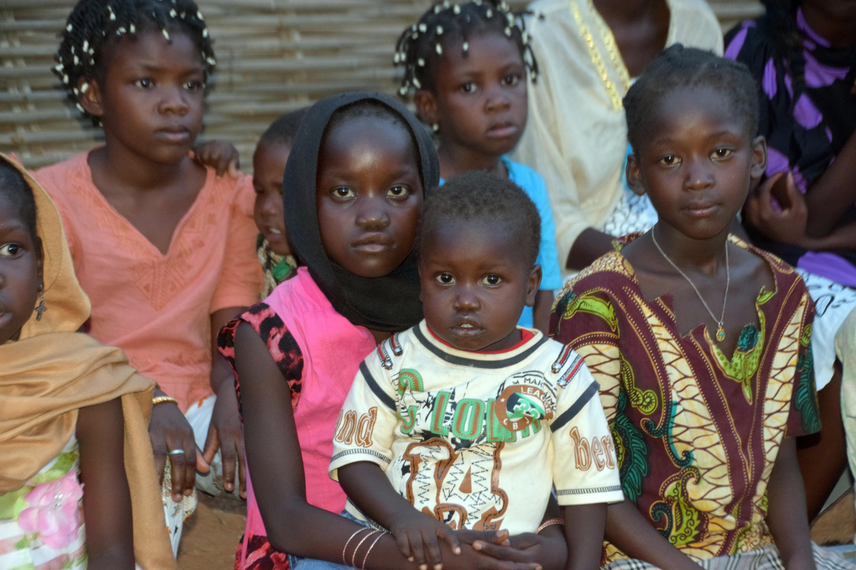 Children at the Comboni Parish Centre, Sudan in 2017