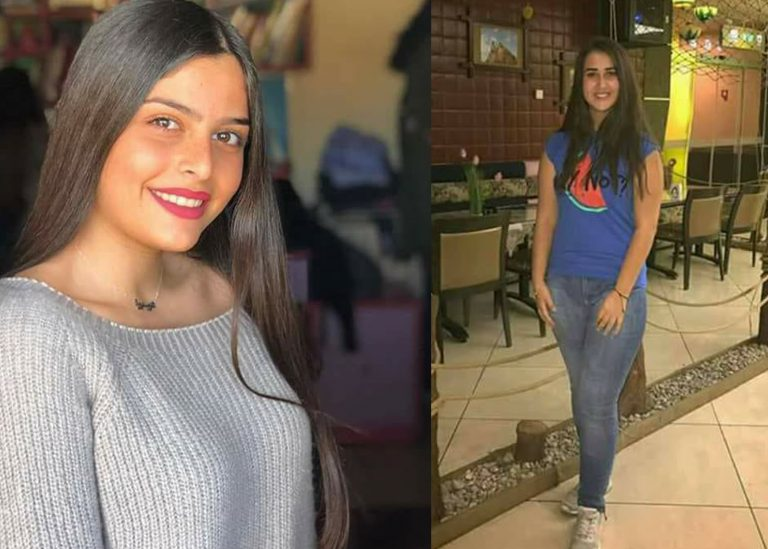 Rita Eid (right), aged 17, was killed in rocket attack and Christine Hourani, also 17, was badly injured (Photographs courtesy of the Melkite Greek Catholic Patriarchate – Damascus/Beirut)